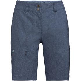 VAUDE Skomer II Spodnie krótkie Kobiety niebieski